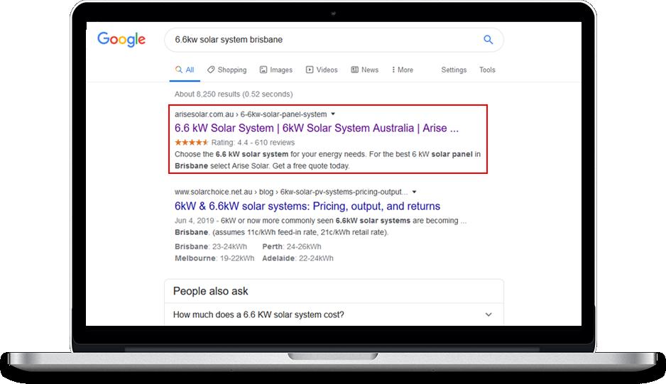 Arise Solar Ranking